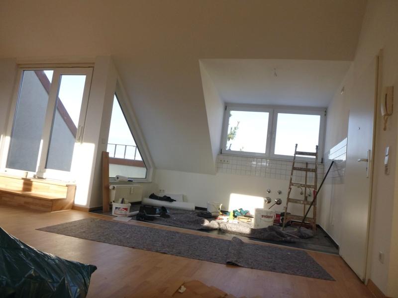 Vermietet individuelle 4 raum dachgeschosswohnung mit for 2 raum wohnung erfurt