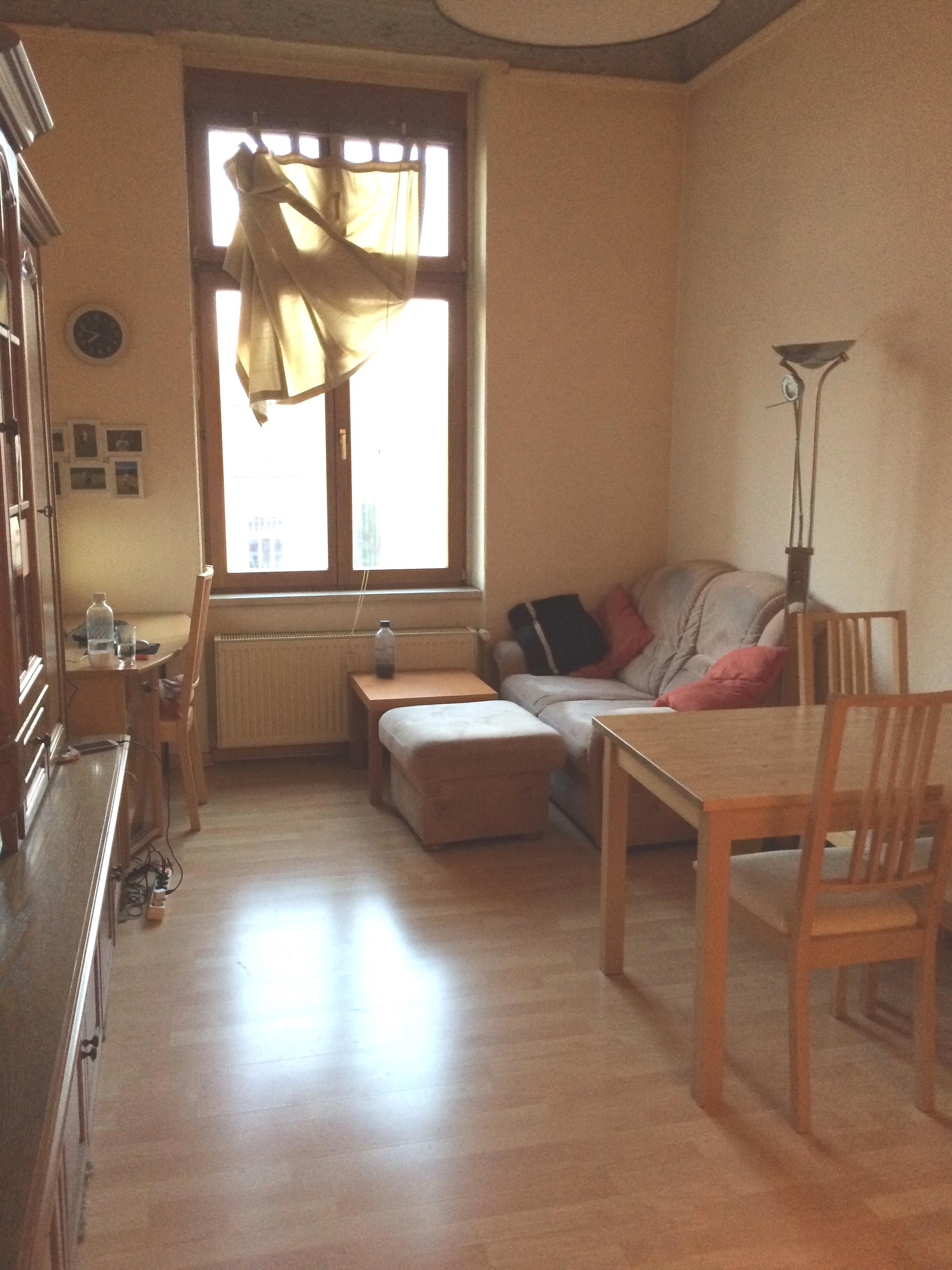 vermietet zentrale 2 raum wohnung in der l bervorstadt antaris immobilien. Black Bedroom Furniture Sets. Home Design Ideas